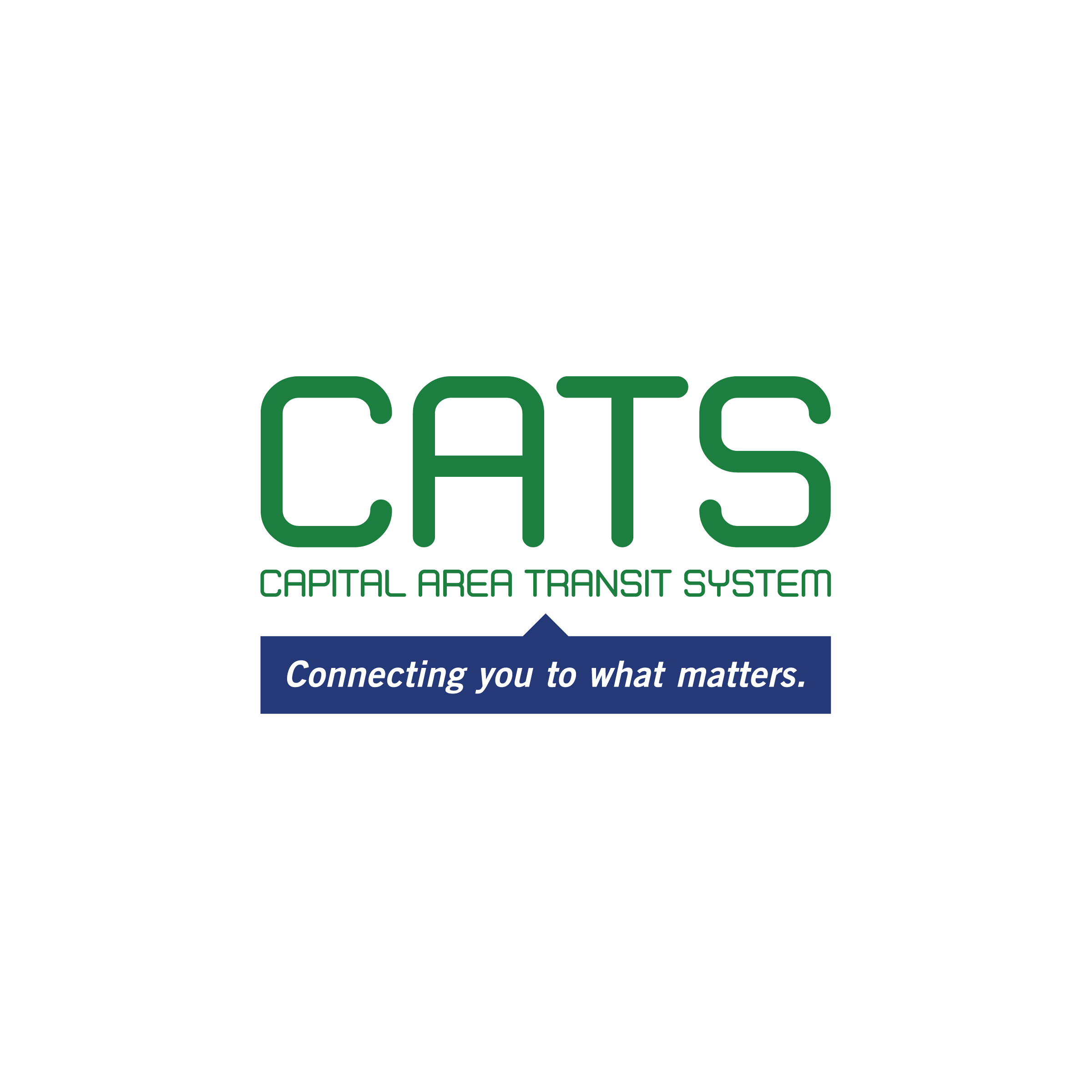 Capital Area Transit System (CATS) Logo