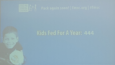 Kids fed for a year: 444
